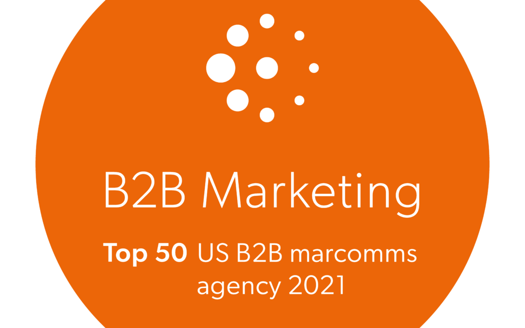 Red House Named 2021 Top 50 B2B Marketing Agency